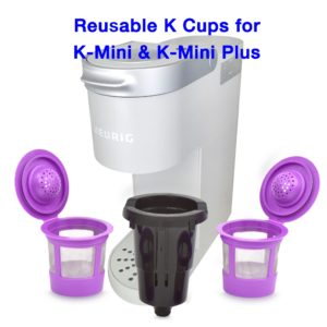 Reusable K Cups for K-Mini K-Select and Keurig Mini Plus, Filters, Pods